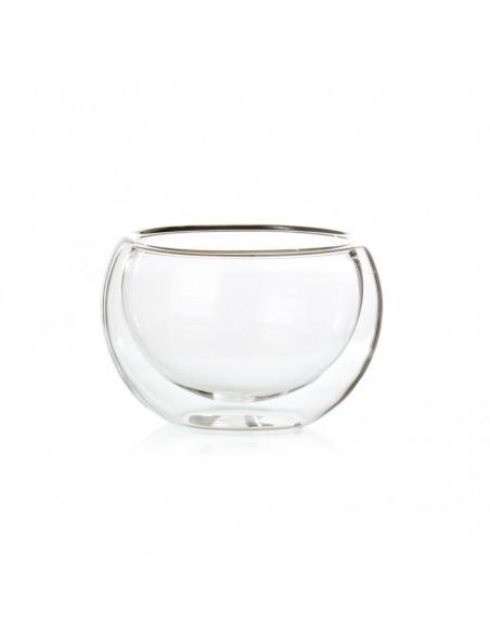 Taza cristal burbuja 125ml