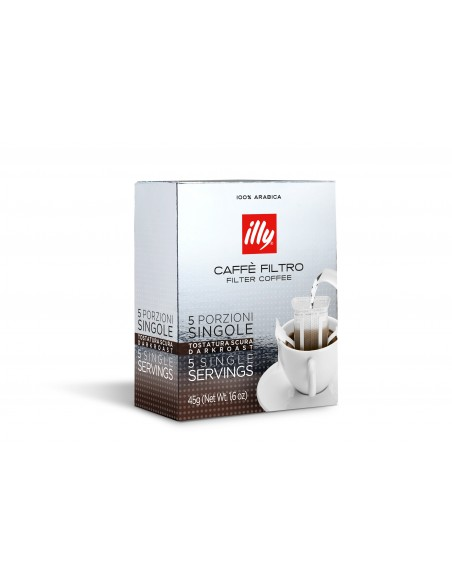 CAFE CON FILTRO TOSTADO DARK (5 unidades)