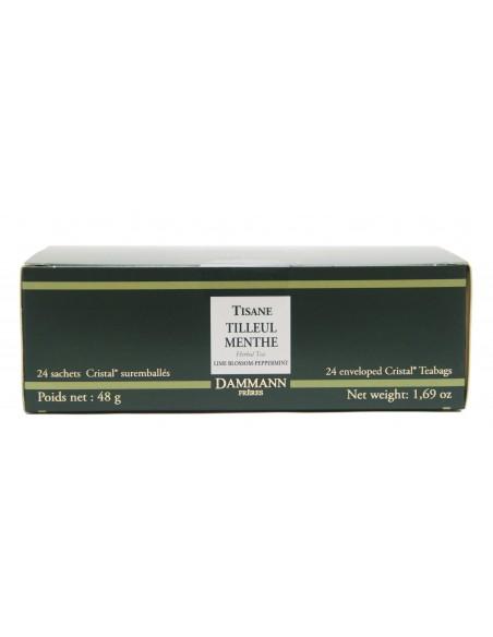 Té 24 Sachets Tilleul Menthe / Lime Blossom Mint