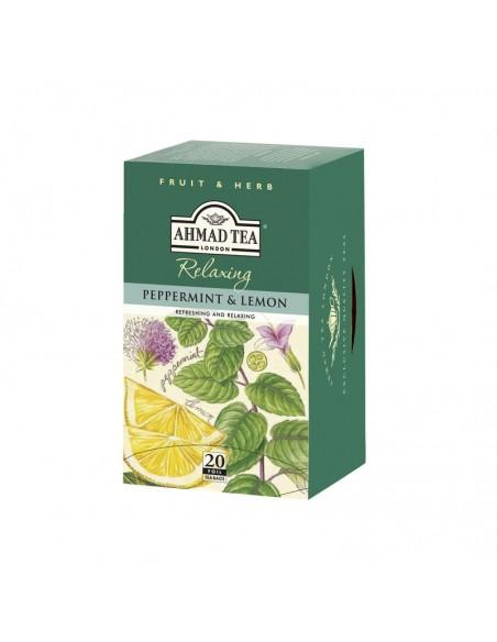 Teabag Peppermint & Lemon (Caja 20 Unidades)