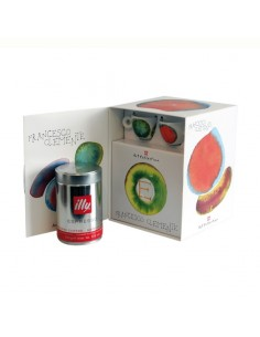 Kit Franceso Clemente - 2 Tazas Y 2 Platos Expresso + Cafe 250 Gr