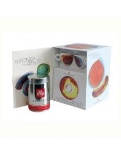 Kit Franceso Clemente - 2 Tazas Y 2 Platos Cappuccino + Cafe 250 Gr
