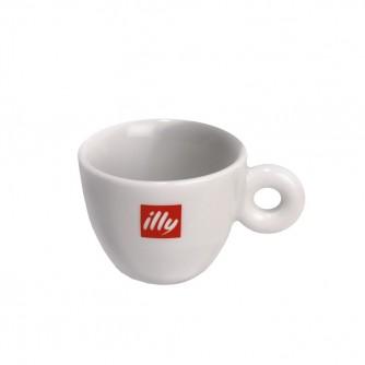 Taza espresso con logo illy