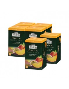 6 CAJAS DE TE PEACH & PASSION FRUIT (DE 20 UN)