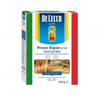 DECECCO - PENNE RIGATE N°41 TRICOLORE