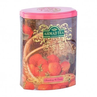 FTC TEA CADDY STRAWBERRY & CREAM 100 GRS