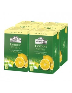 Pack 4 cajas Te verde Lemon Green