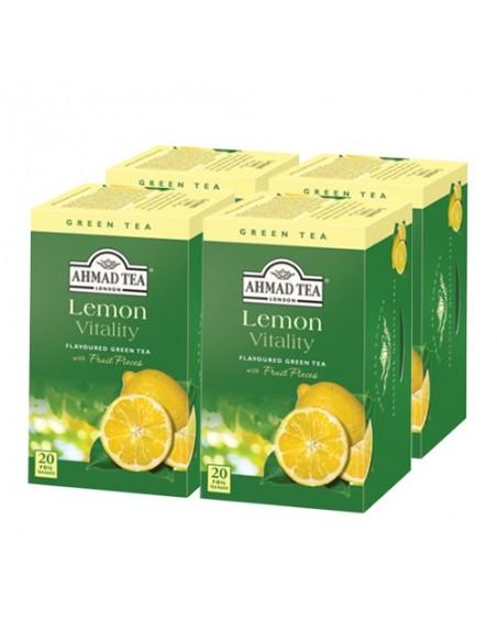 Pack 4 cajas Te verde Lemon Green