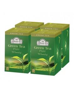 Pack 4 cajas Green Tea