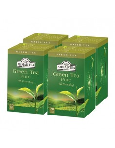 Pack 4 cajas Green Tea