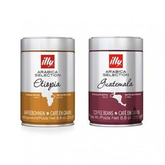 Pack 2 café grano Monoarábico Etiopia + Guatemala