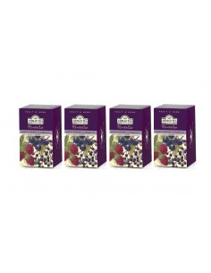 4 CAJAS DE 20 UN TE MIX BERRIES AHMAD