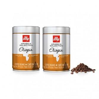 2 LATAS CAFÉ MONOARABICO GRANO ETIOPIA 250 grs