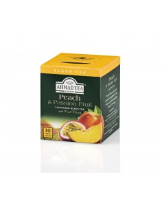 TEABAG PEACH AND PASSION FRUIT (CAJA 10 UNIDADES)