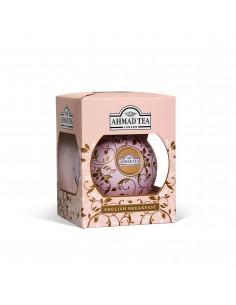 TEA BAUBLE ROSADA (ENGLISH BREAKFAST HOJA 30 GR)