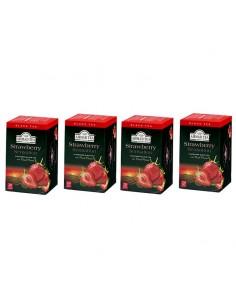 Pack 4 cajas Te Frutilla