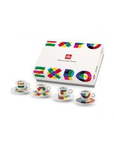 Juego tazas espresso Expo...