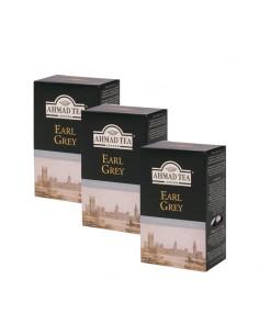 3x Te Earl Grey en hoja 100 gr