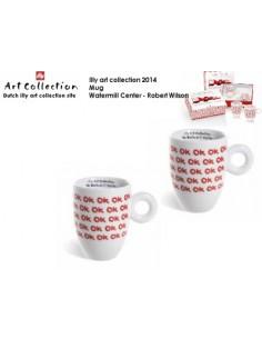 Juego 2 Mug illy art Watermill